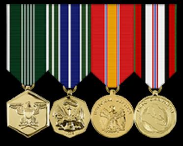Ribbons Mini Anodized Medal