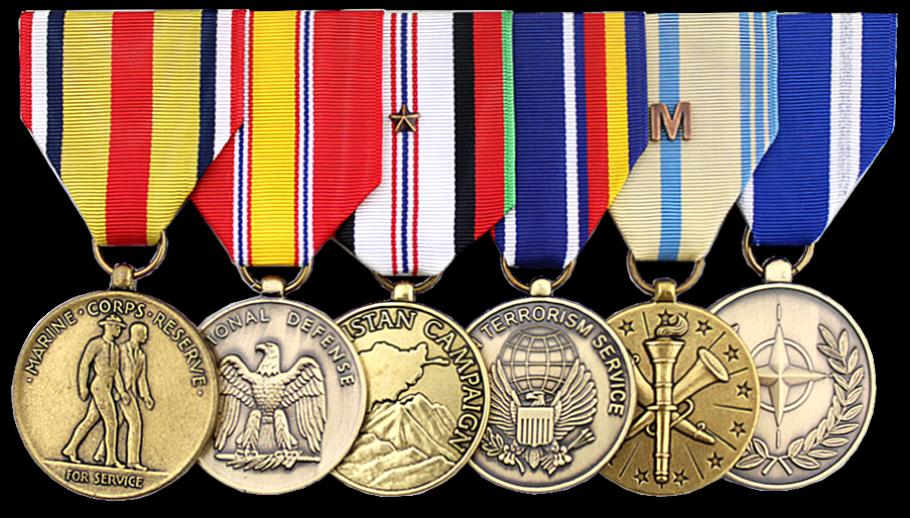 Standard Medals Rack Builder