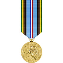 Armed Forces Expeditionary Mini Anodized Medal