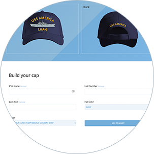 The Navy Cap Builder