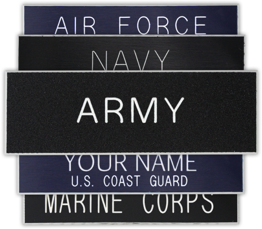 Embroidered Military Name Tapes, Tags & Name Plates